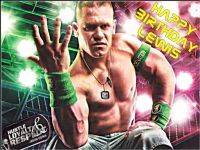 A4 John Cena Wwe Personalised Edible Icing Or Wafer Paper